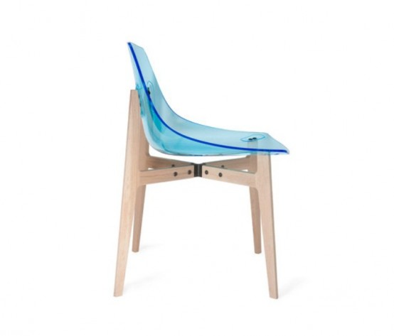 Colorful Modern Plexiglass Chairs