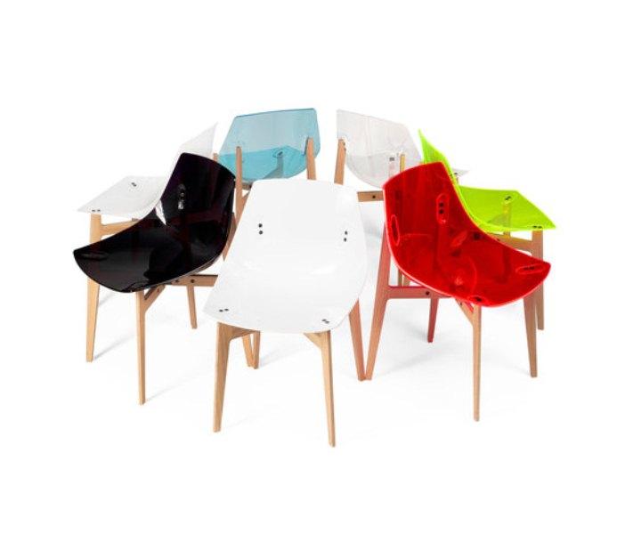 Colorful Modern Plexiglass Chairs Digsdigs