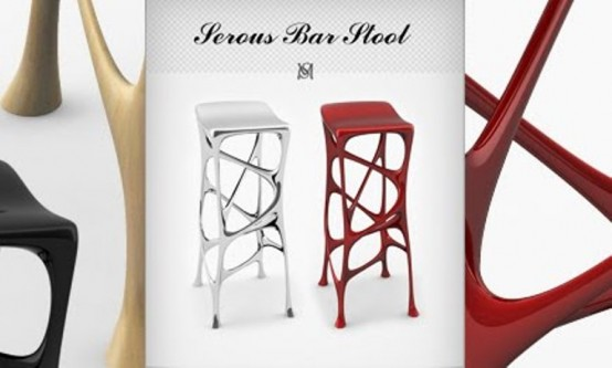 Colorful Modern Stools And Chairs