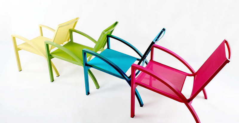 Colorful Chic Outdoor Furniture | DigsDigs