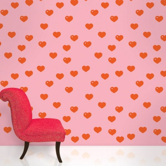 Colorful patterned wallpapers for kids 39 rooms by allison - Colorful room for kids ...