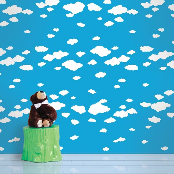 Advertisement for Kids room wall paper