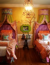 Colorful Shared Kids Bedroom