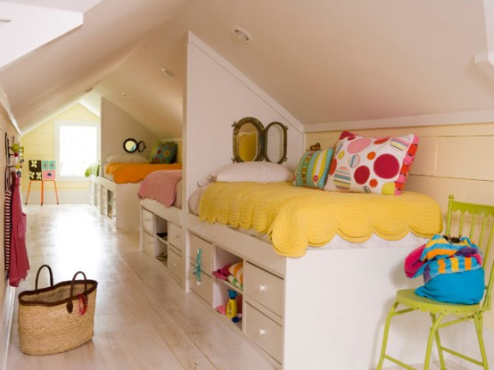 Colorful Shared Kids Room