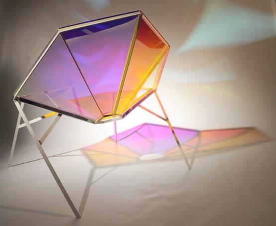 Colorful Transparent Chair
