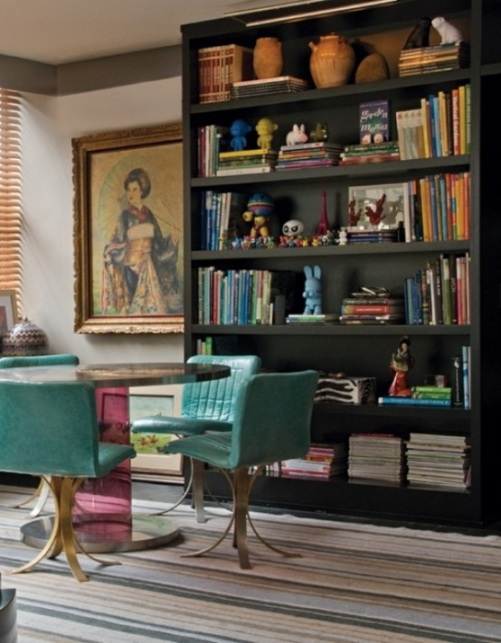 Colorful Unusual Apartment In A Mix Of Styles