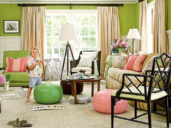 111 bright and colorful living room design ideas digsdigs for Warm decorating ideas living rooms