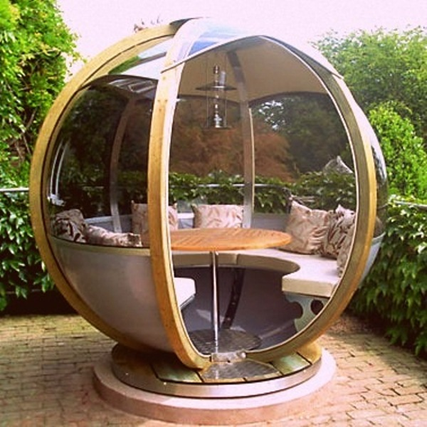 Comfortable Garden Spheres To Relax In