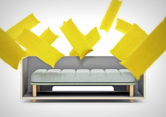 Beau Comfy And Customizable Re Cinto Sofa Resembling French Fries