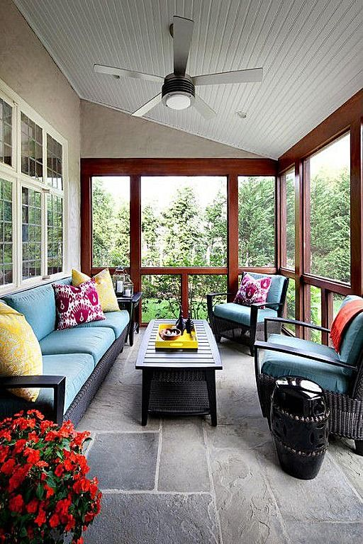 36 Comfy And Relaxing Screened Patio And Porch Design Ideas ...