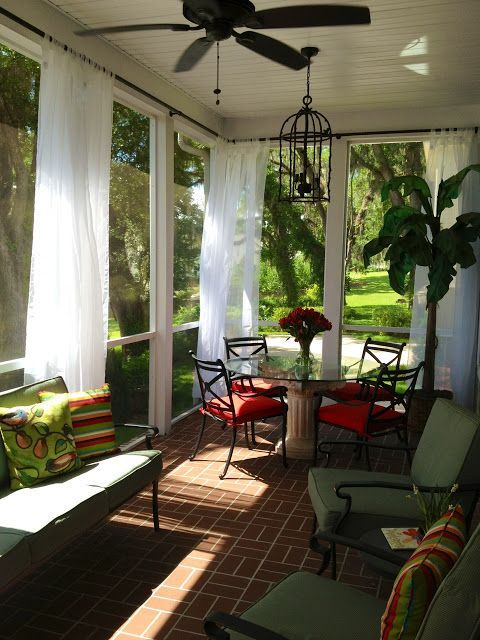 beautiful screened patio and porch ideas for your home