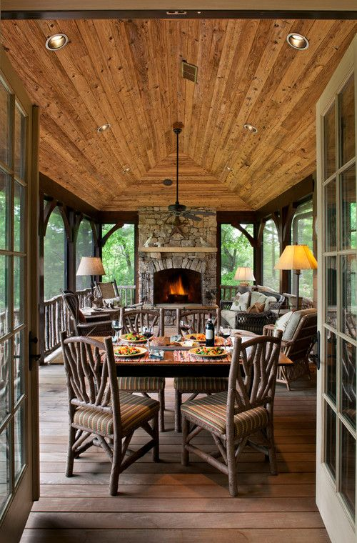 Spectacular Comfy And Relaxing Screened Patio Design Ideas