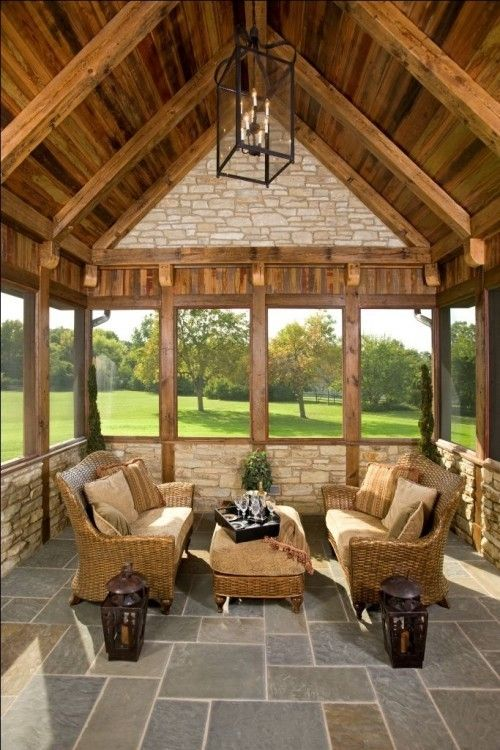 Unique Comfy And Relaxing Screened Patio Design Ideas