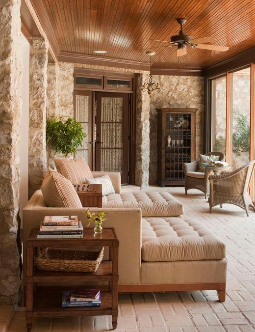36 comfy and relaxing screened patio and porch design for Sunroom and patio designs