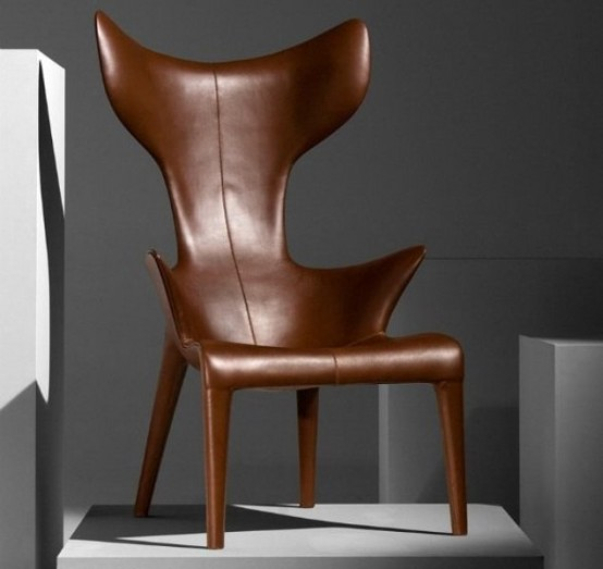 Comfy Leather Armchair For Readers