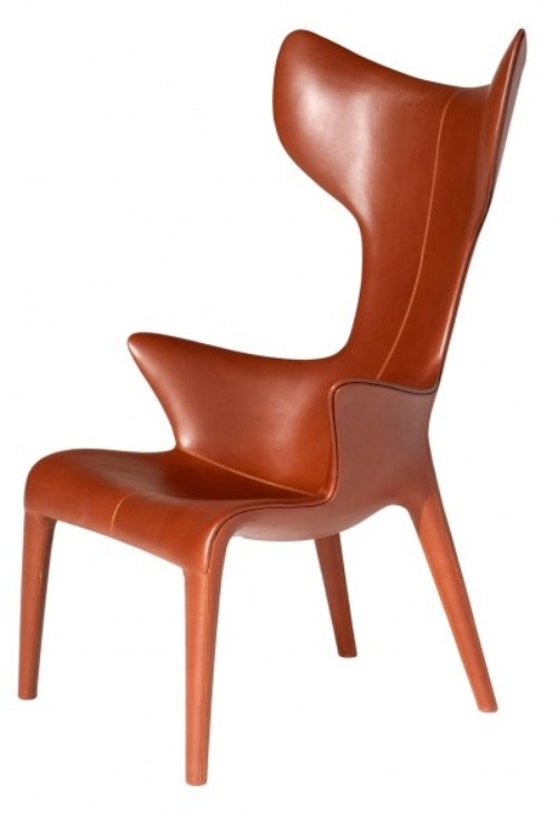 Comfy Leather Armchair For Readers DigsDigs - Comfy leather armchair for readers