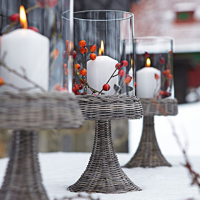 Comfy rustic outdoor christmas d�cor ideas digsdigs