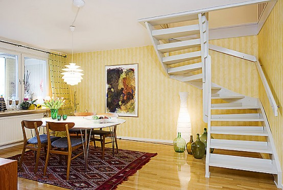 Comfy Seven-Room Apartment Design On 150 Square Meters