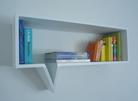 Comic Speech Bookshelf