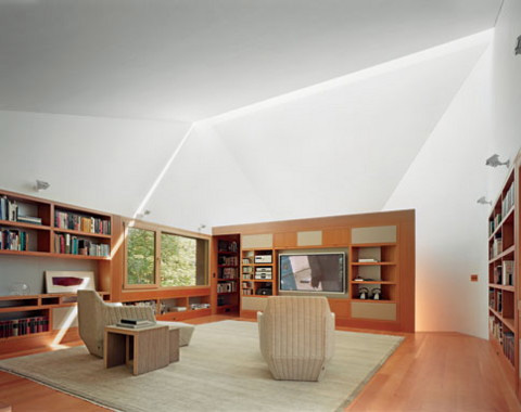 Compact Writing Studio And Library