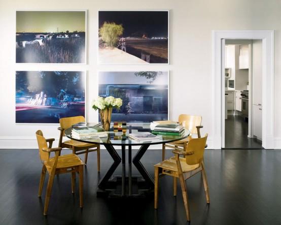 Conceptual House Interior For A Photo Art Lover
