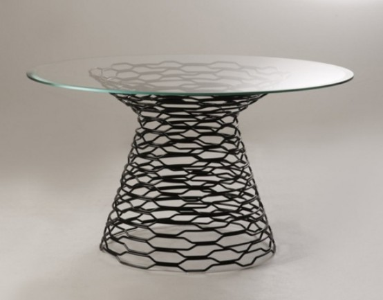 Conceptual Tron Table Inspired By The Famous Sci Fi Film