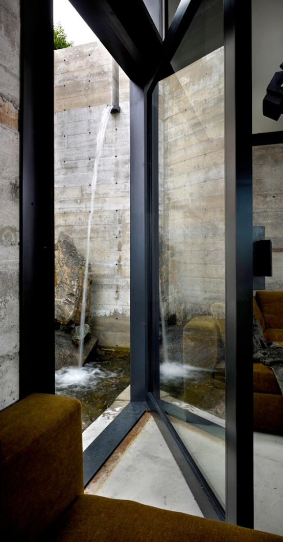 Concrete And Steel Modern Interior Design