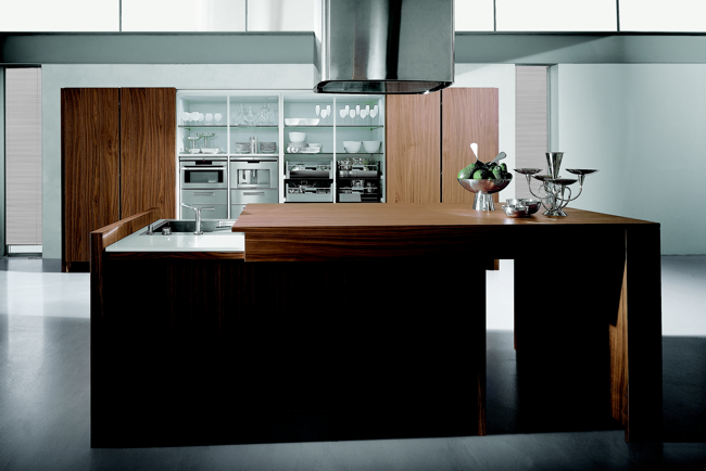16 Modern Kitchen Designs - Contempora Kitchens by Aster Cucine - DigsDigs