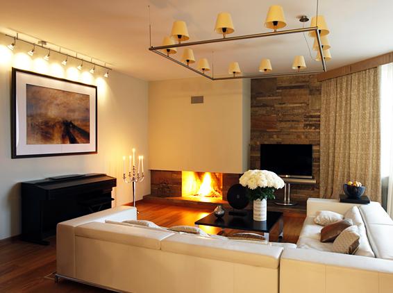 contemporary interior design of two level apartment digsdigs