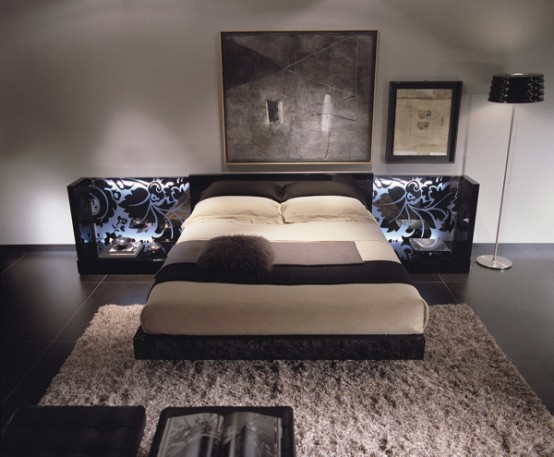 20 contemporary italian beds by fimes digsdigs 11906 | contemporary italian beds by fimes 25 554x457