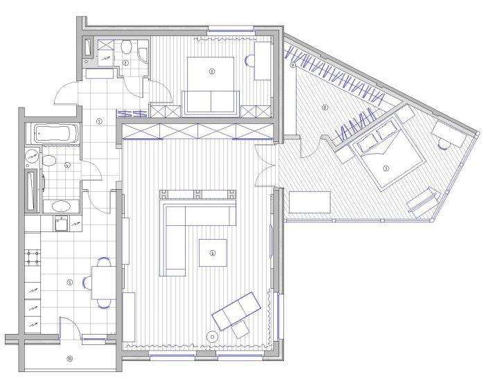 Contemporary Apartment Interior