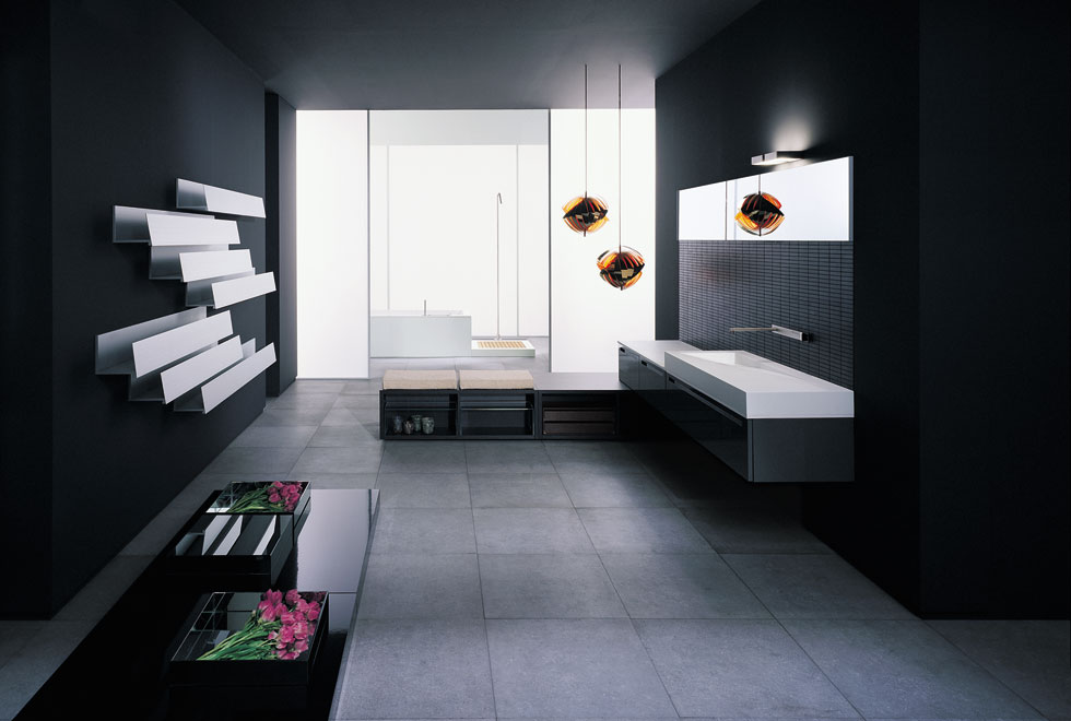 very big bathroom inspirations from boffi digsdigs. Black Bedroom Furniture Sets. Home Design Ideas