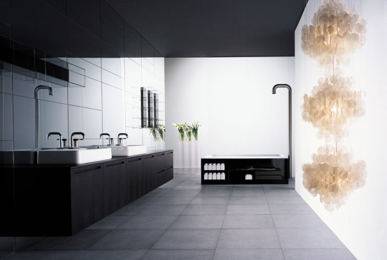 Contemporary Big Bathroom Inspiration