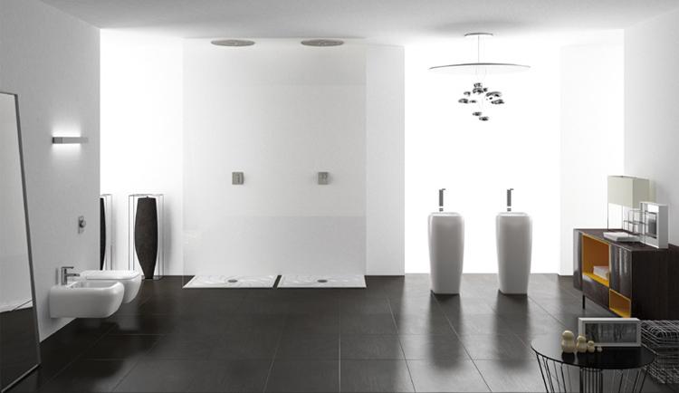 Contemporary Easy Chic Bathroom Sanity Ware
