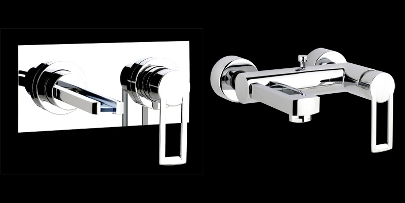 Contemporary Waterfall Faucets Riflessi From Gessi DigsDigs - Contemporary waterfall faucets riflessi from gessi