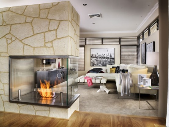 Contemporary Fireplace Examples