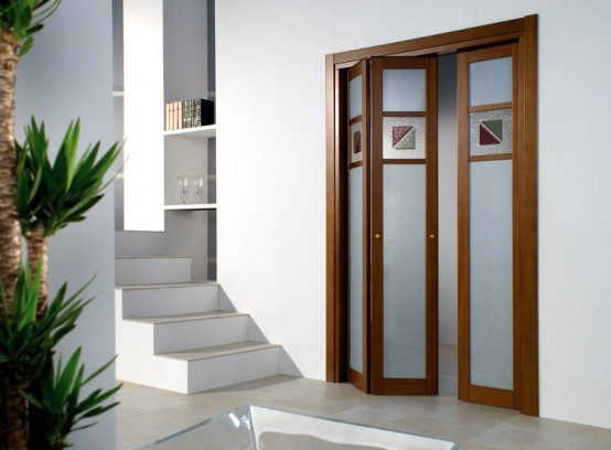 Contemporary Folding Doors