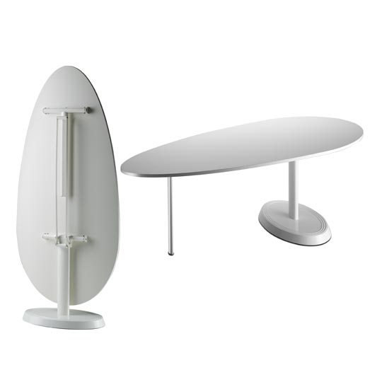 Small Contemporary Folding Table MOvo From Lapalma