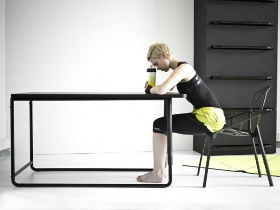 Modern Furniture Set That Allows To Stretch Your Body