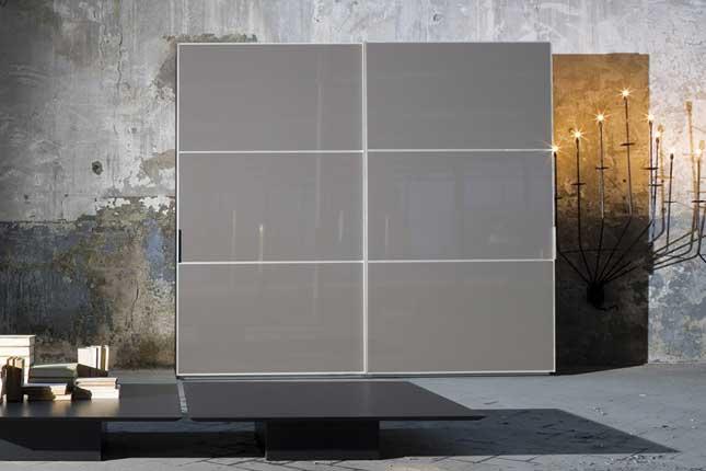 Contemporary Glossy Wardrobe Box