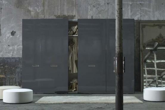 Pod Gray Wardrobe