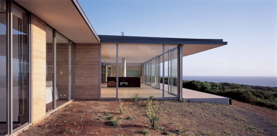 Contemporary House With Minimum Landscape Impact