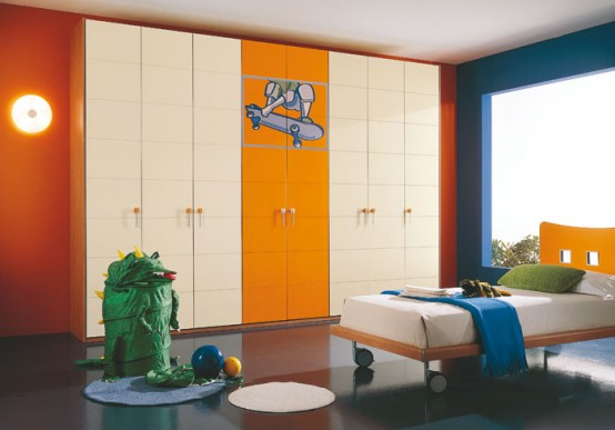 Contemporary Kids Room Decor Idea