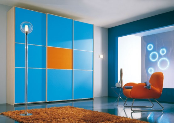 Contemporary Kids Room Decor Idea