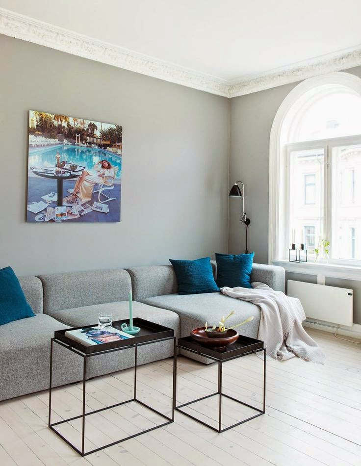 Contemporary Lively Apartment With Works Of Modern Art
