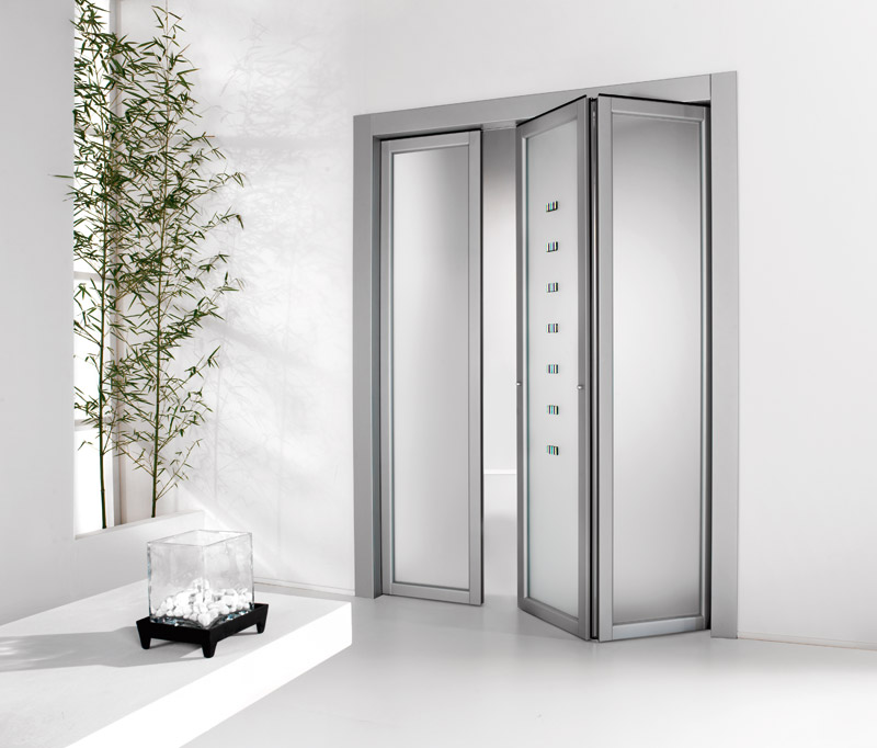 Modern folding doors by foa porte digsdigs for Contemporary interior doors