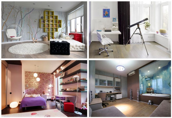 Contemporary Teen Rooms