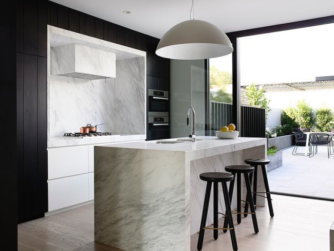 Contemporary Townhouse With Laconic And Clean Lined Interior
