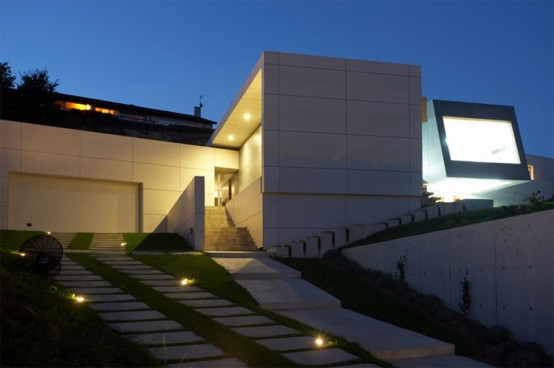Contemporary Style Concrete House – Santander house by A-Cero