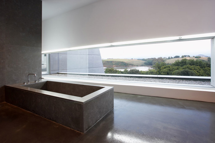 Contemporary Style Concrete House Santander House By A
